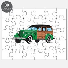 CLASSIC WOODY CAR Puzzle