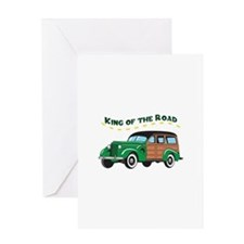 KING OF THE ROAD Greeting Cards