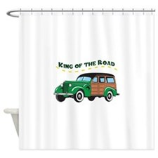 KING OF THE ROAD Shower Curtain