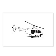 HELICOPTER Postcards (Package of 8)