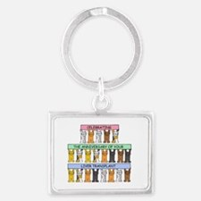 Celebrating anniversary of your Landscape Keychain