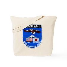 Spacelab J Tote Bag