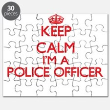 Keep calm I'm a Police Officer Puzzle