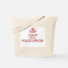 Keep calm I'm a Police Officer Tote Bag