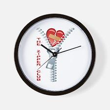 The Zipper Club Wall Clock