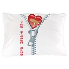 The Zipper Club Pillow Case