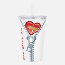 The Zipper Club Acrylic Double-wall Tumbler