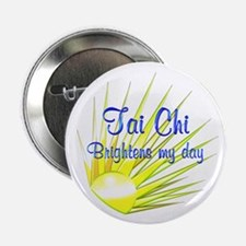 "Tai Chi Brightens 2.25"" Button (100 pack)"