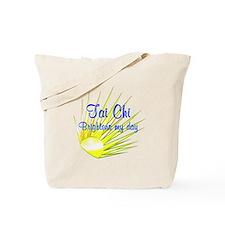 Tai Chi Brightens Tote Bag