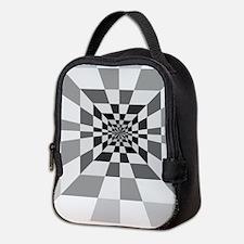 Op Art Hall Neoprene Lunch Bag