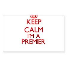 Keep calm I'm a Premier Decal