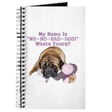 no no bad dog Journal