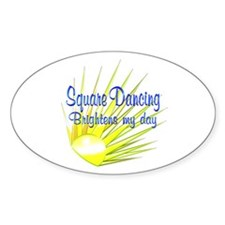 Square Dancing Brightens Decal
