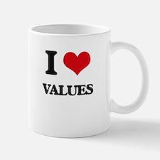 I love Values Mugs