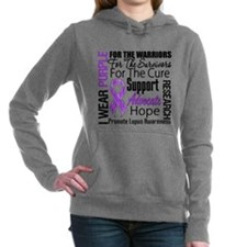 Lupus Women's Hooded Sweatshirt