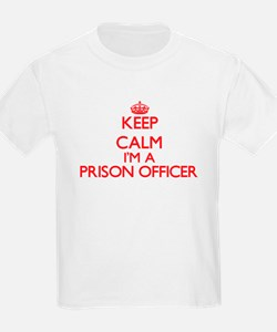 Keep calm I'm a Prison Officer T-Shirt