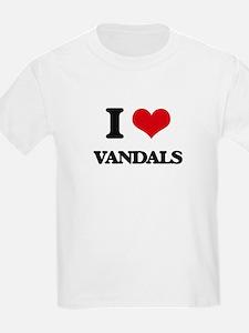 I love Vandals T-Shirt