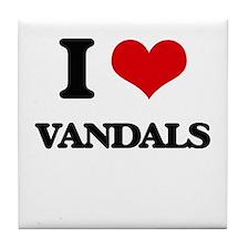 I love Vandals Tile Coaster