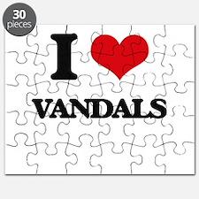 I love Vandals Puzzle