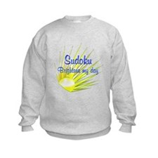 Sudoku Brightens Sweatshirt