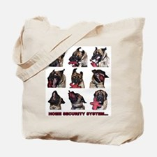 Cute Home security Tote Bag