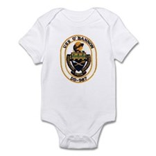 USS O'BANNON Infant Bodysuit