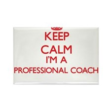 Keep calm I'm a Professional Coach Magnets