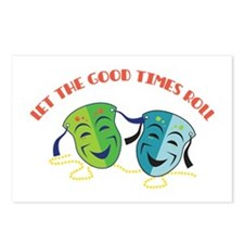 Good Times Roll Postcards (Package of 8)