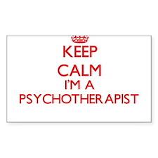 Keep calm I'm a Psychotherapist Decal