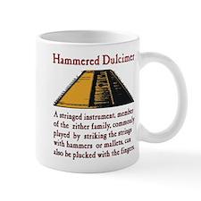 Hammered Dulcimer Mugs