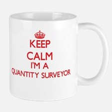 Keep calm I'm a Quantity Surveyor Mugs