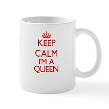 Keep calm I'm a Queen Mugs