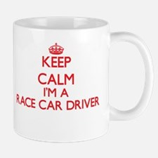 Keep calm I'm a Race Car Driver Mugs