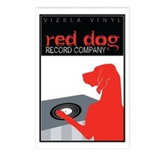 Vizsla Vinyl Postcards (Package of 8)
