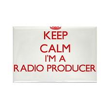 Keep calm I'm a Radio Producer Magnets