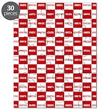 Croatia - Hrvatska Checkered Puzzle