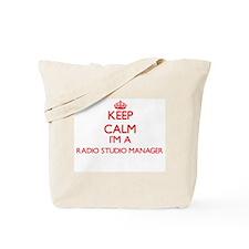 Keep calm I'm a Radio Studio Manager Tote Bag