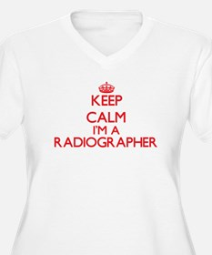 Keep calm I'm a Radiographer Plus Size T-Shirt