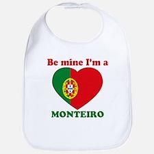Monteiro, Valentine's Day Bib