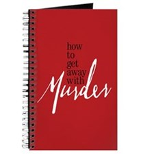 How To Get Away With Murder Journal