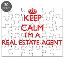 Keep calm I'm a Real Estate Agent Puzzle