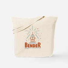 Futurama Bender Rodriguez Tote Bag