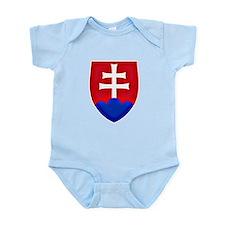 Slovakia Ice Hockey Emblem - Slovak Repu Body Suit