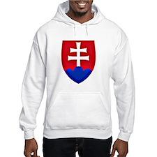 Slovakia Ice Hockey Emblem - Slo Hoodie