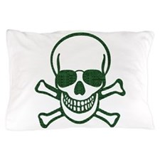 Internet Hacker Skull Pillow Case