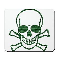 Internet Hacker Skull Mousepad
