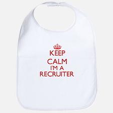 Keep calm I'm a Recruiter Bib