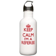 Keep calm I'm a Refere Water Bottle