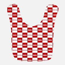 Croatia - Hrvatska Checkered Bib
