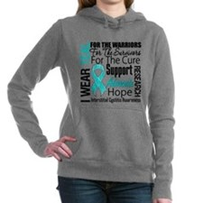 Interstitial Cystitis Women's Hooded Sweatshirt